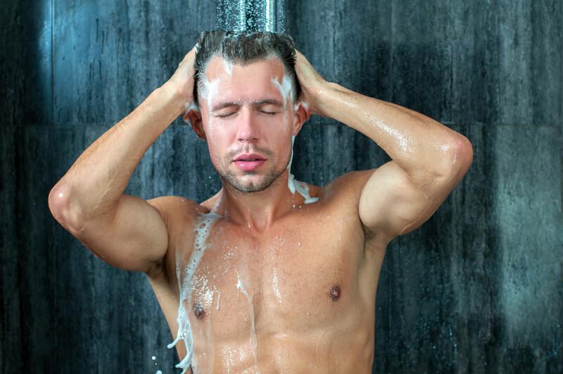 calvitie et shampoing au Trioxidil