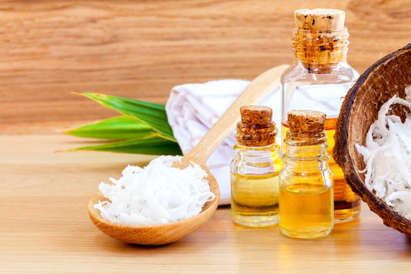 Traitement calvitie avec de l'huile de coco