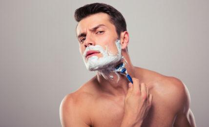 Savon à barbe ou crème à raser