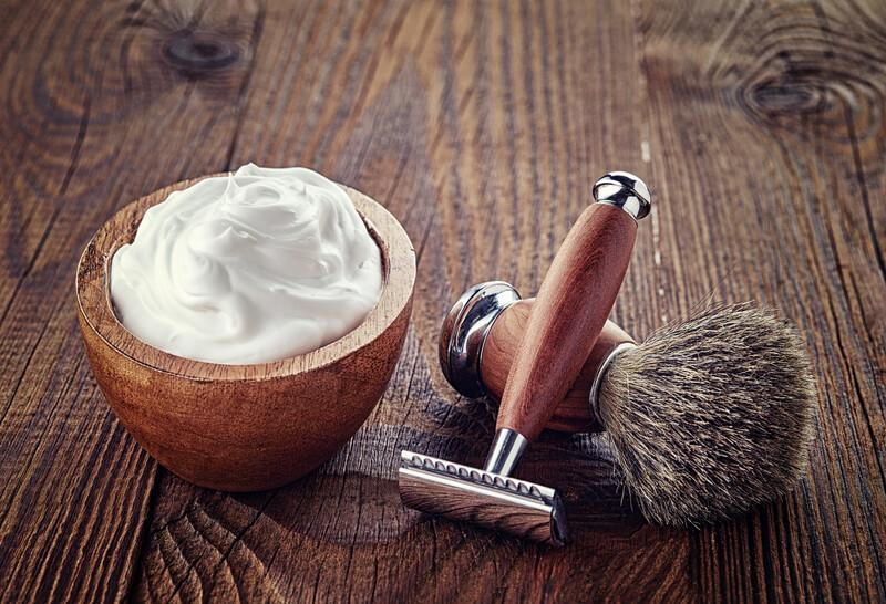 utiliser un savon à barbe
